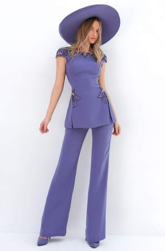 Jumpsuits with Peplum Detail and Flattering Necklines