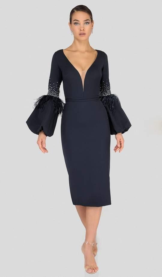 Terani Couture knee-length dress